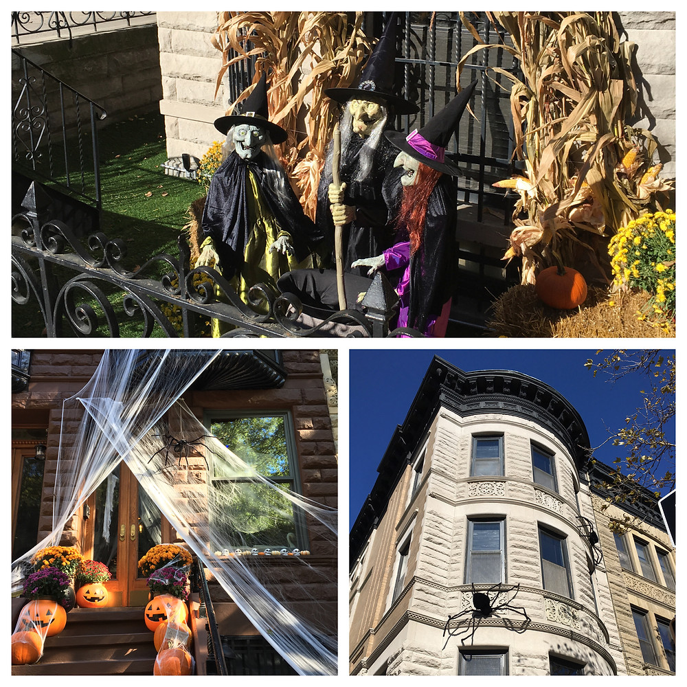 Sugar Hill during Halloween