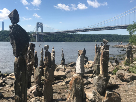 How to find the Sisyphus Stones on the banks of the Hudson River