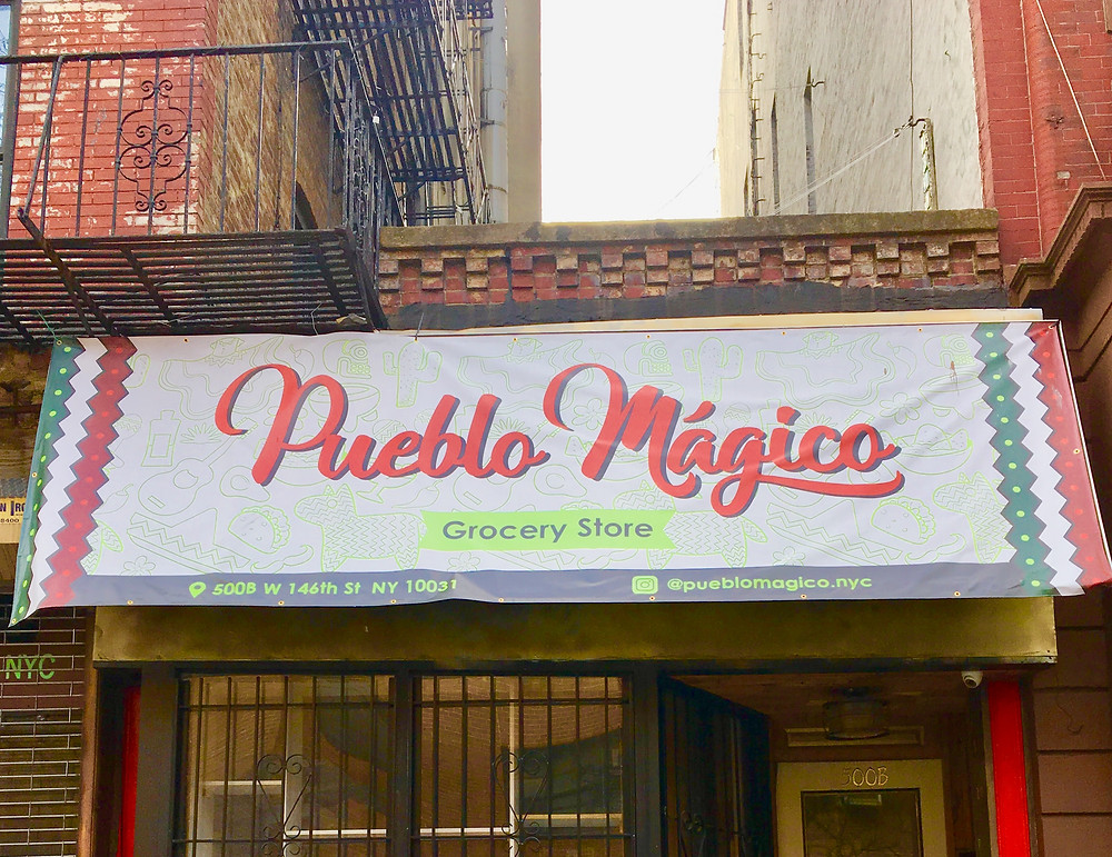 Shop for authentic Mexican groceries at Pueblo Magico in Hamilton Heights