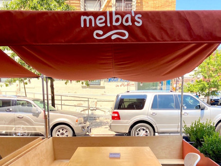Photos: Melba's new outdoor seating–designed by a famed architectural firm–is here