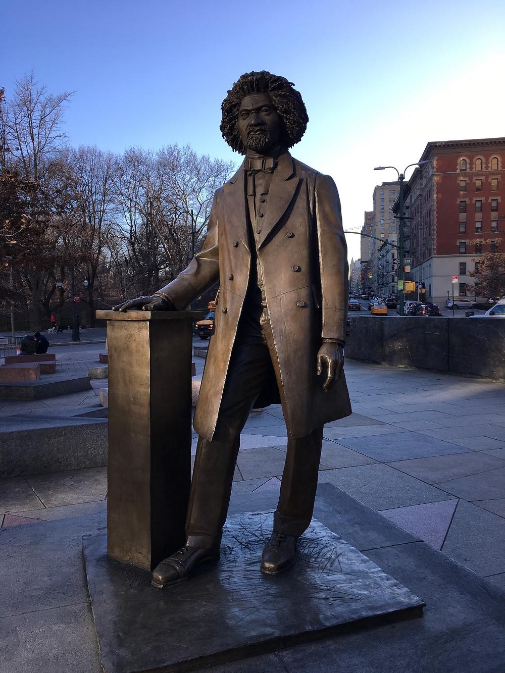 Frederick Douglass Memorial in Harlem