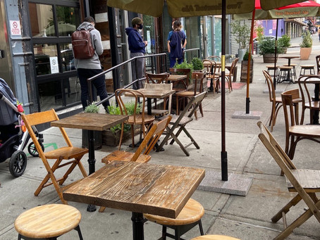 7 Harlem coffee shops with terrific outdoor seating