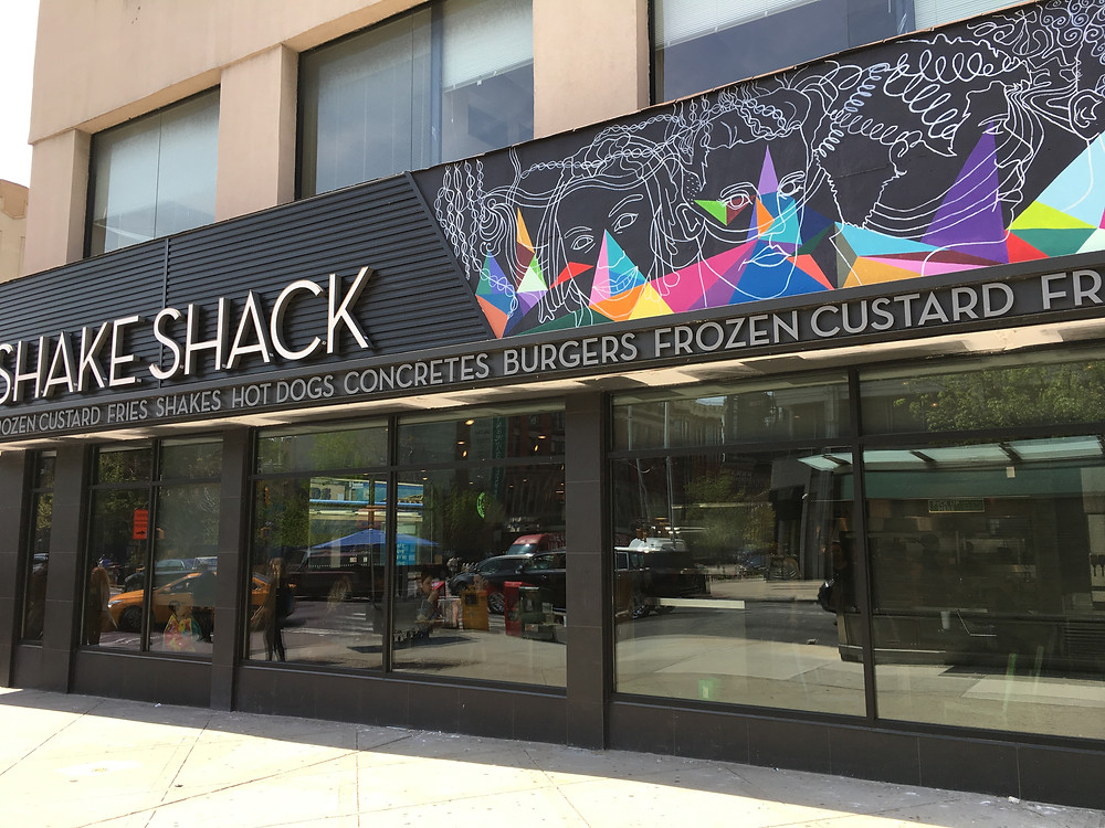Shake Shack Harlem features murals inspired by the neighborhood