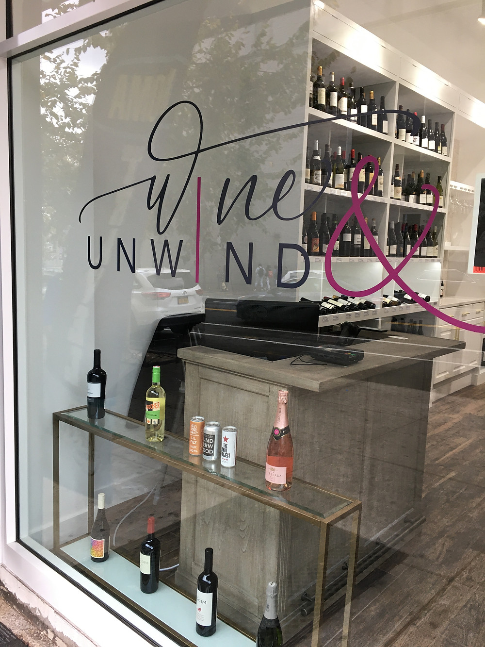 Wine & Unwind, a new wine store on Amsterdam Avenue near City College
