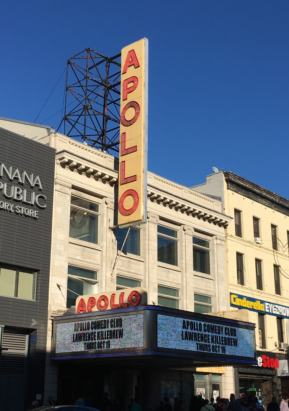 Apollo Theater neon sign