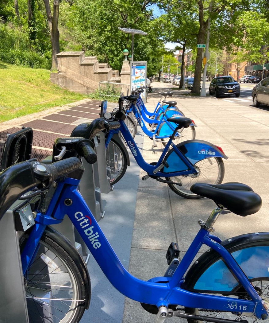 Citi Bike has been expanding in Harlem during the lockdown