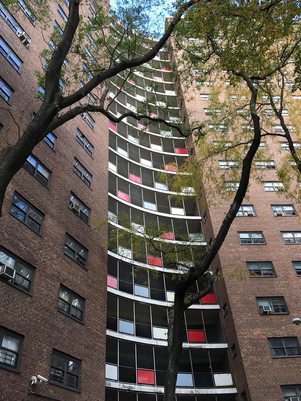 Manhattanville Houses designed by William Lescaze