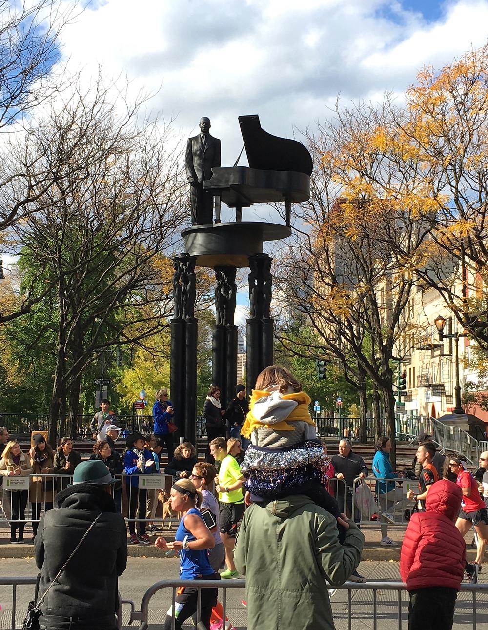 A near-perfect New York City Marathon day in Harlem
