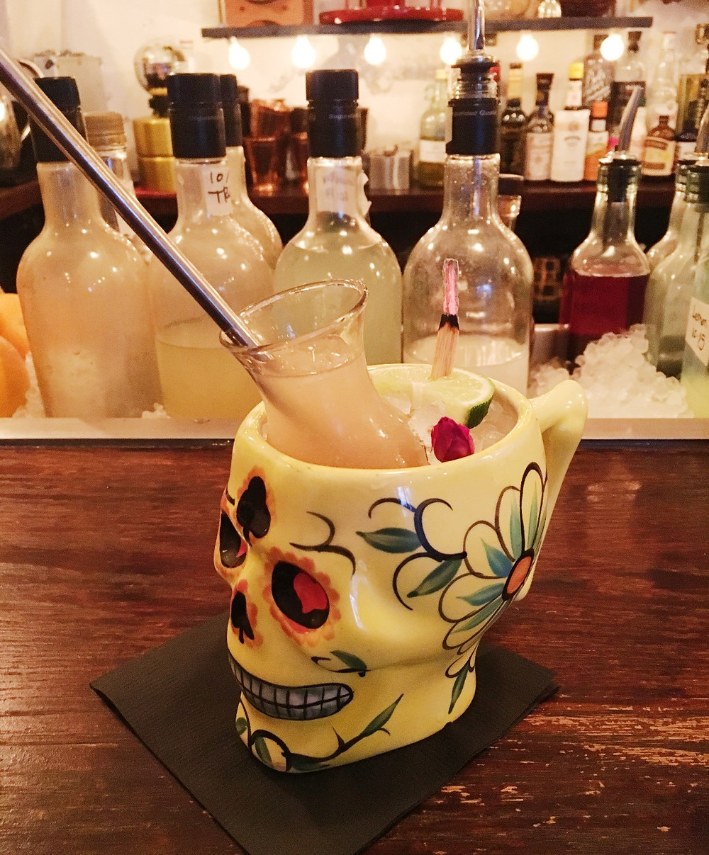 The Grapefruit cocktail at ROKC Harlem