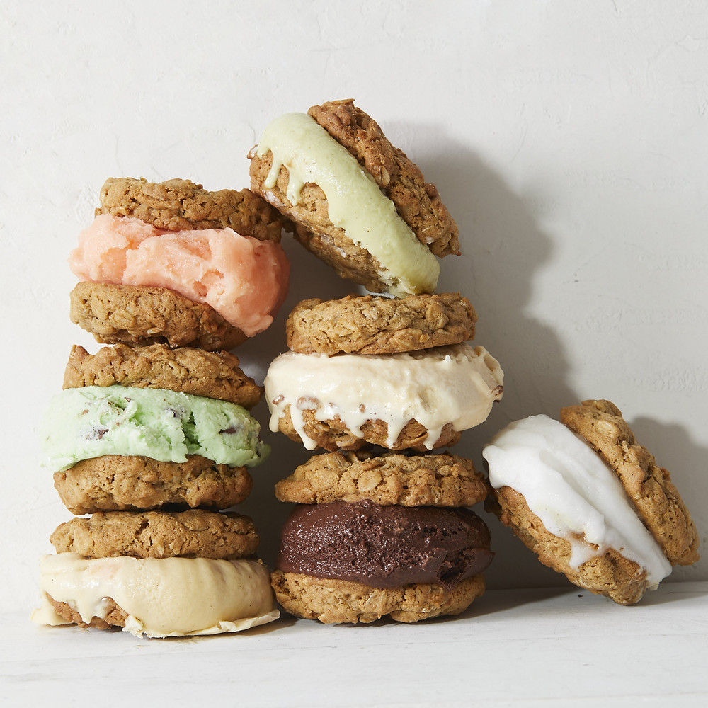 Ice cream sandwich club at Sugar Hill Creamery