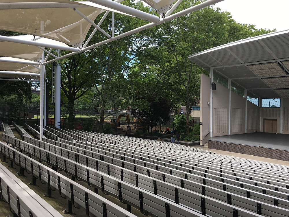 The Richard Rodgers Amphitheater at Marcus Garvey Park