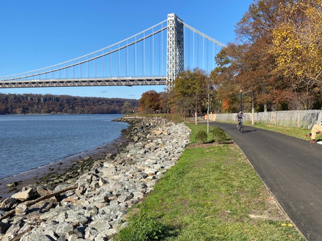 See it: the newly reconstructed waterfront pathway in Fort Washington Park