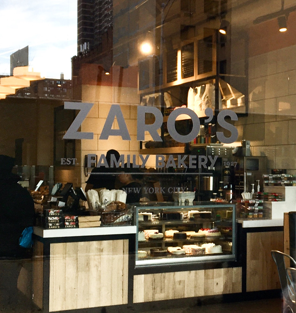 Bagels, black and white cookies, and more at the new Zaro's bakery on 125th Street in Harlem