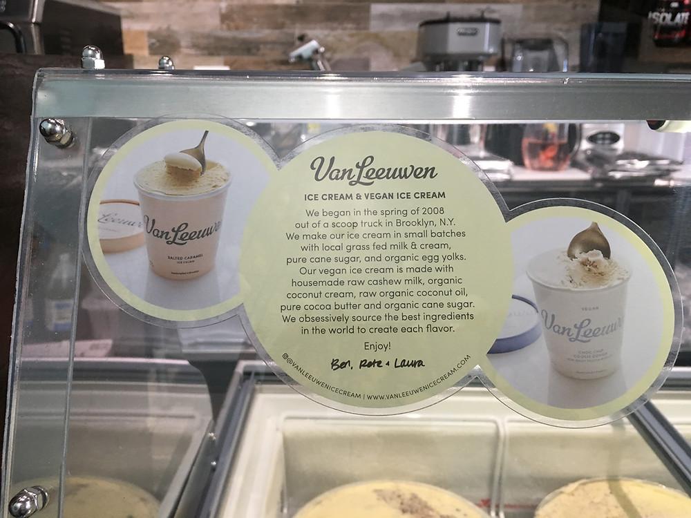 Mocha Cafe serves Van Leeuwen ice cream
