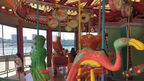 Here's the new spring and summer schedule for the Totally Kid Carousel in Riverbank State Park