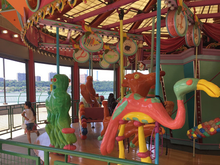 Here's the expanded summer schedule for the Totally Kid Carousel in Riverbank State Park