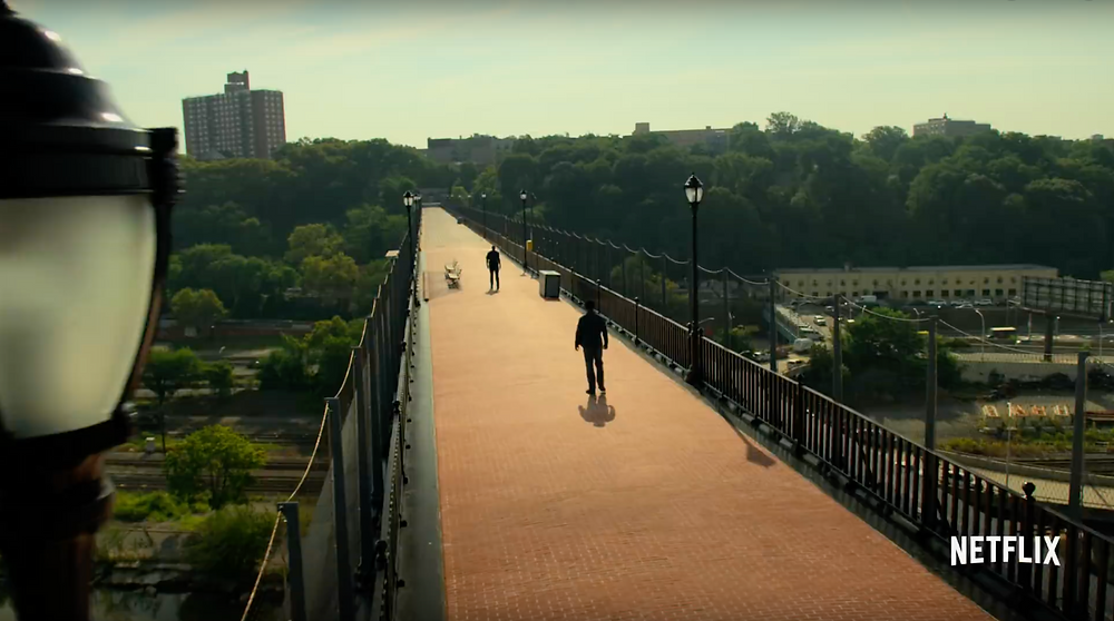 """A scene in Season 2 of """"Luke Cage"""" takes place on the High Bridge in Washington Heights"""