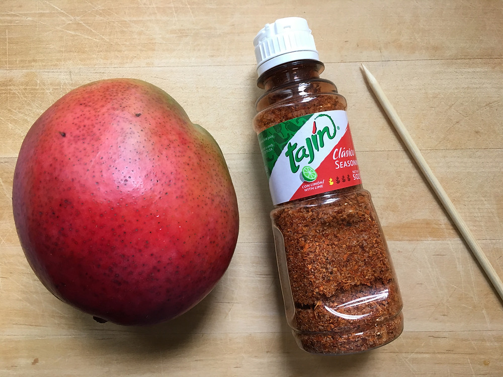 Tajin is the secret ingredient in mango flowers