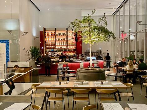 New tapas restaurant Oliva opens inside the Manhattanville Market in West Harlem