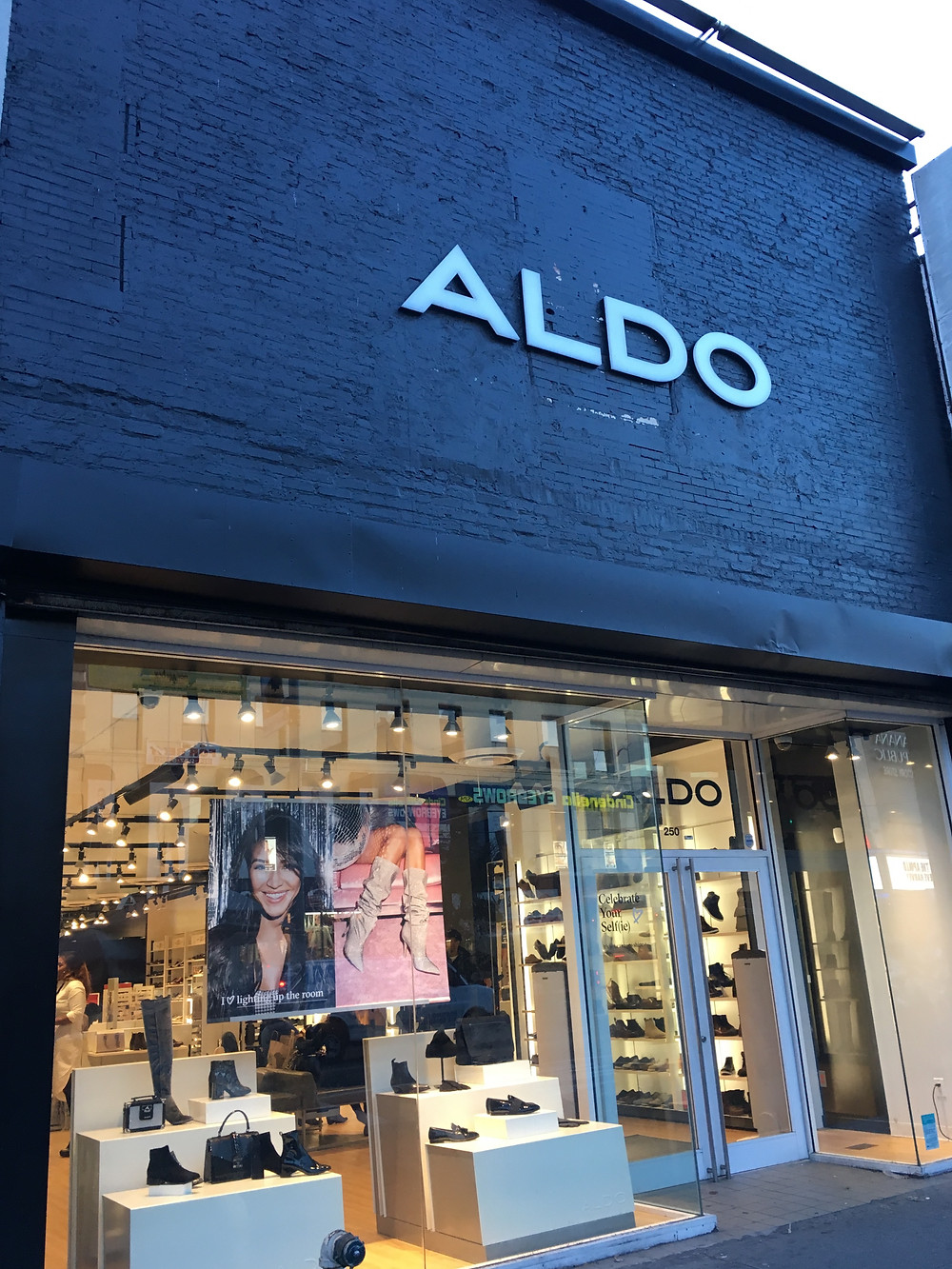 Aldo shoes in Harlem