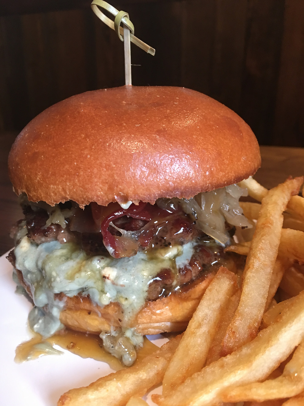 Hilltop Park Alehouse already has a few burgers that have become favorites, like the namesake Hilltop