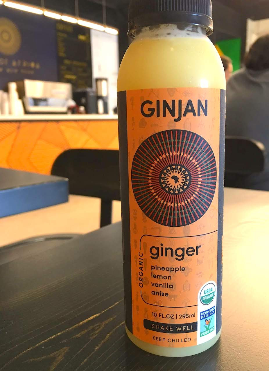 Black-owned cafe in Harlem: Ginjan