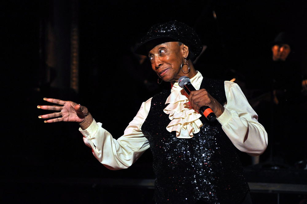 Norma Miller at the Century Ballroom. Photo by Joe Mabel