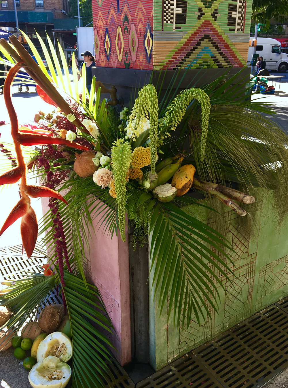 This Flower Flash in Washington Heights is a preview of next year's citywide L.E.A.F. flower festival
