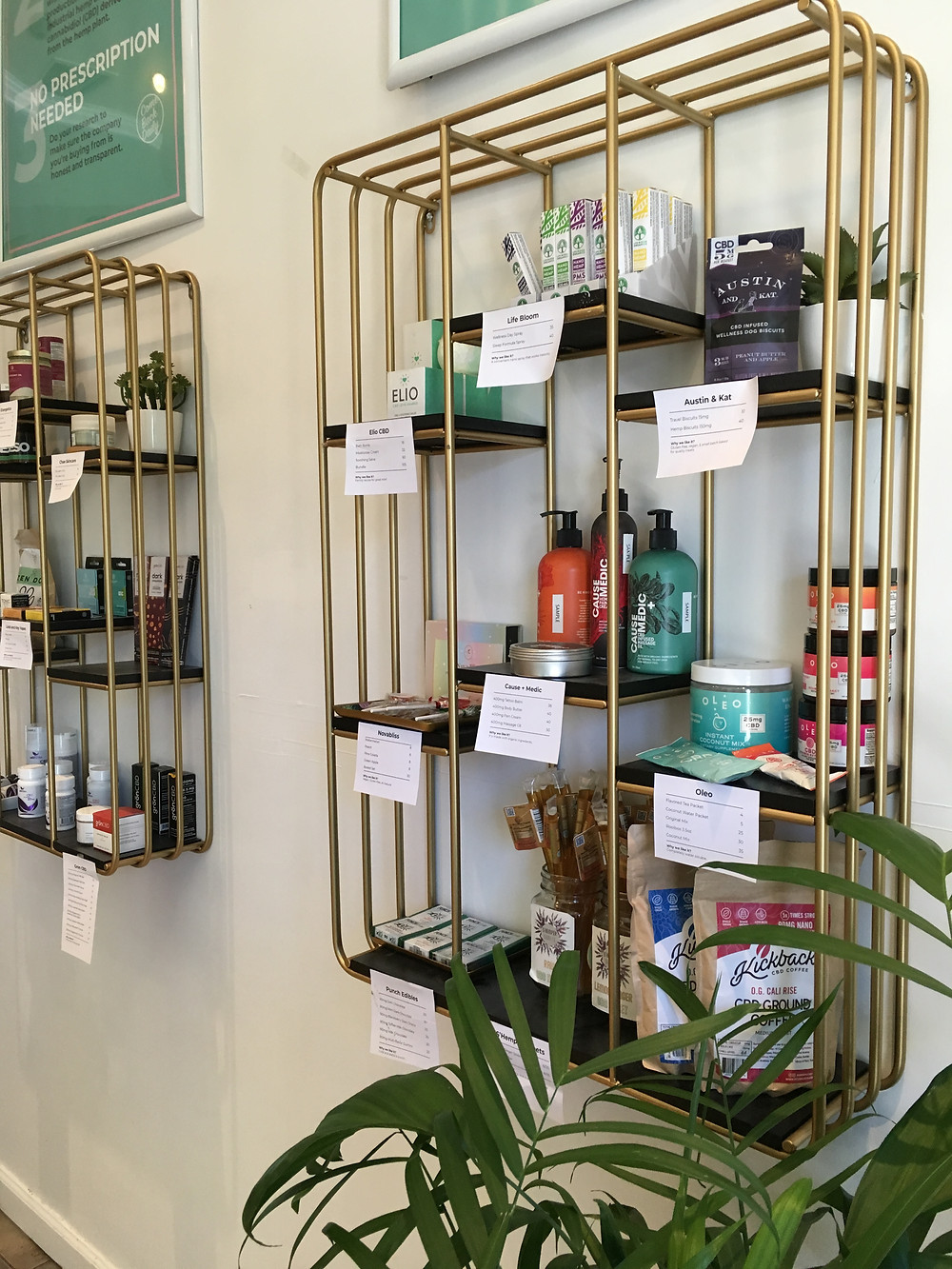 Come Back Daily, Harlem's new CBD store, sells tinctures, salves, topicals, vapes, and edibles (for humans and dogs)