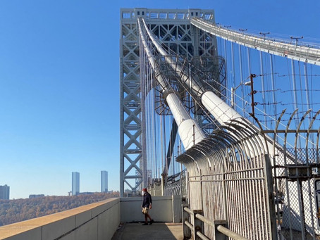 Uptown thrill: walking (or biking) across the George Washington Bridge