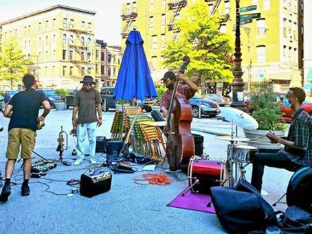 Where to find live outdoor jazz in Harlem this weekend