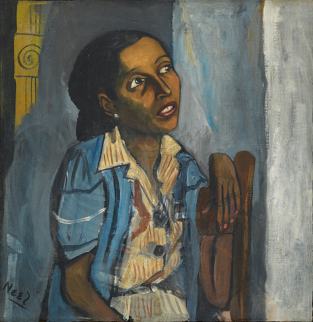 Alice Neel, Mercedes Arroyo, 1952