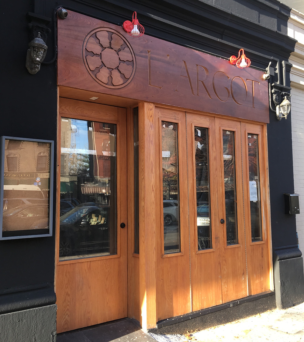 L'Argot, a new restaurant and wine bar in Hamilton Heights