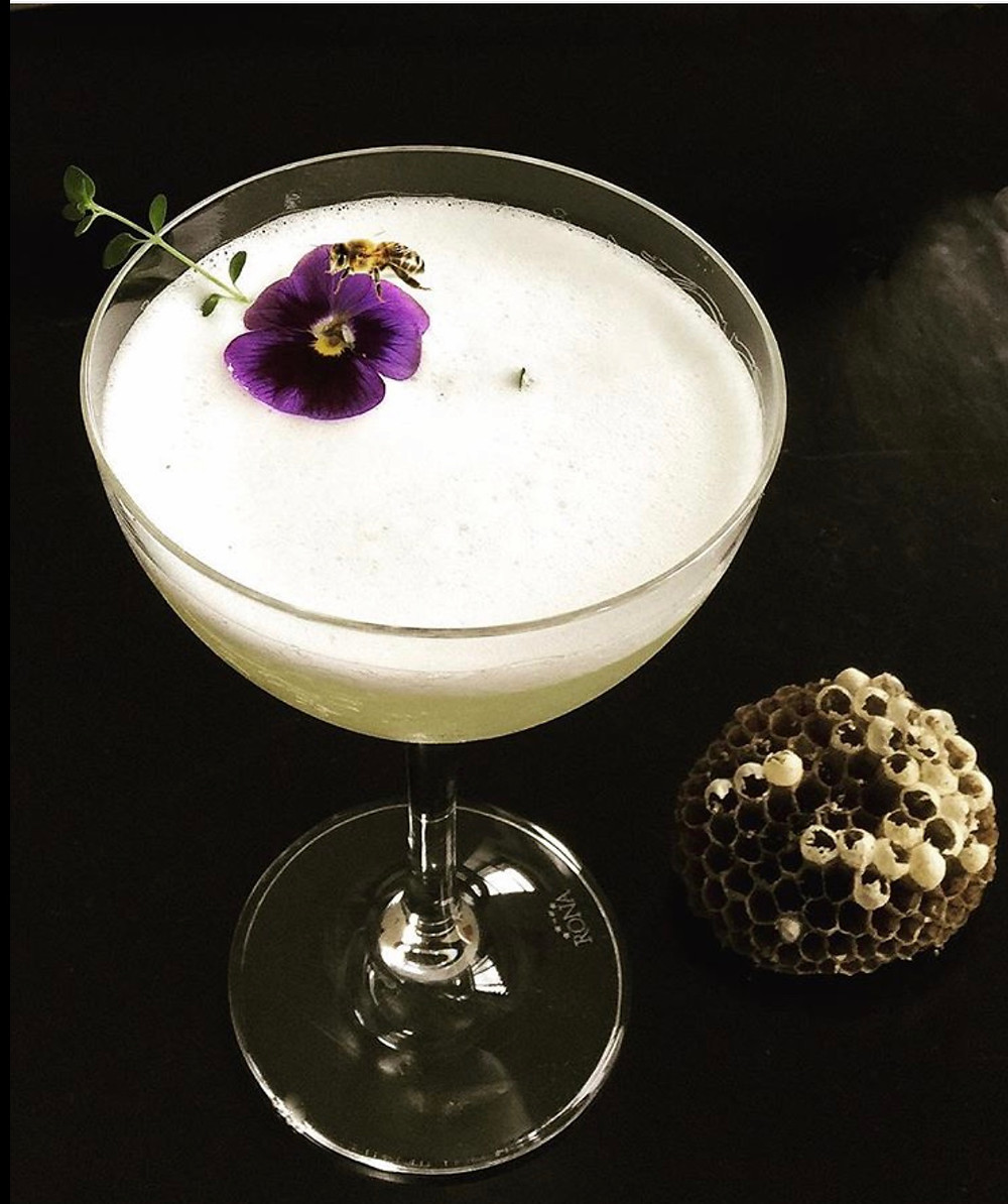 Sugar Monk is a new bar in Harlem where the cocktails are almost too beautiful to drink