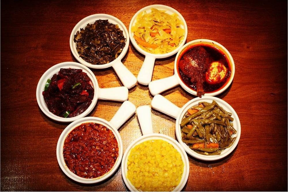 Benyam Ethiopian restaurant in Harlem