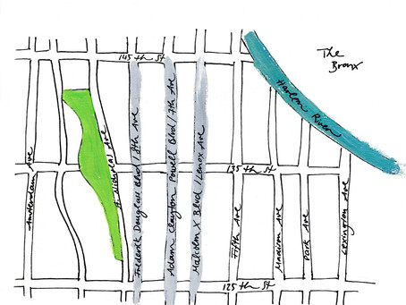 A primer on Central Harlem's avenues for visitors (and the perpetually disoriented)