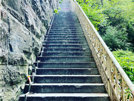 This long stairway at the 155th Street Viaduct is your next outdoor workout challenge