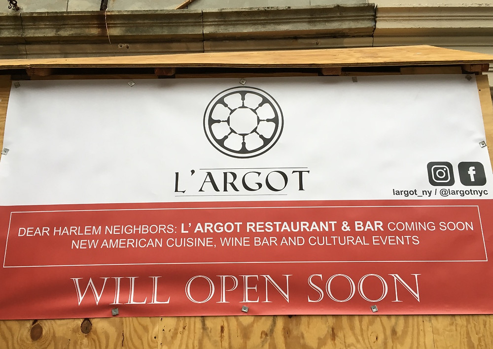 L'Argot in Hamilton Heights