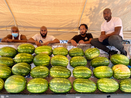 Harlem's Black Seed Brothers have all the sweet, Southern watermelon you're craving. Yes—with seeds.