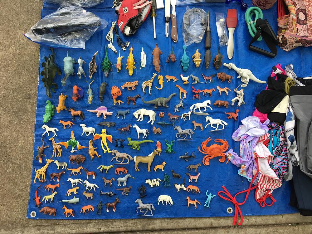 Montefiore Park weekend flea market