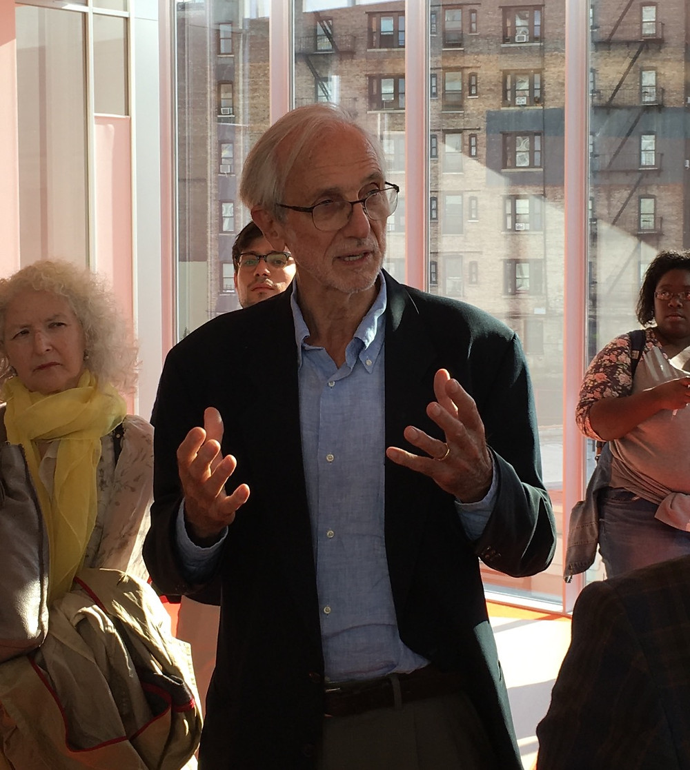 Architect Renzo Piano gives a tour of his latest building, The Forum at Columbia University