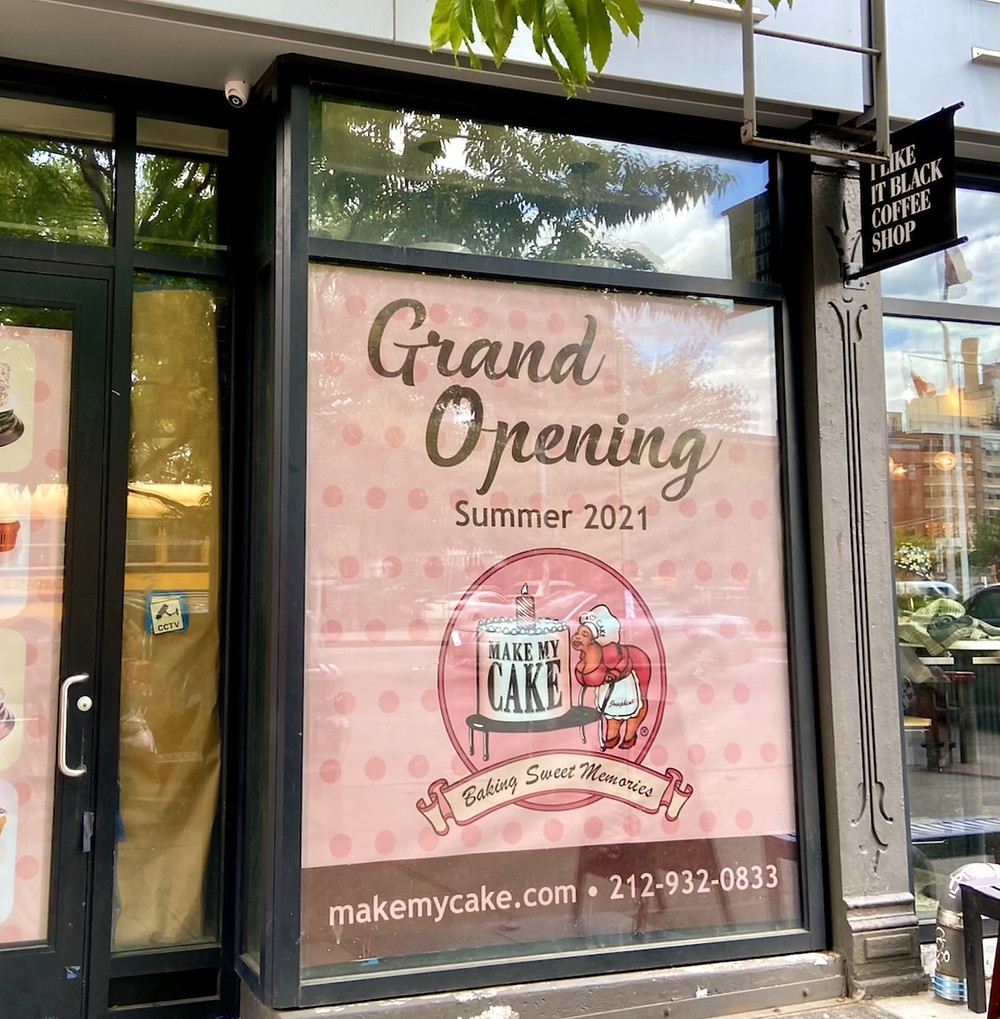 Make My Cake is opening a shop on 125th Street this summer