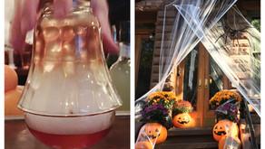 Uptown double date: ROKC cocktails + Halloween stroll (4 spooky spots)