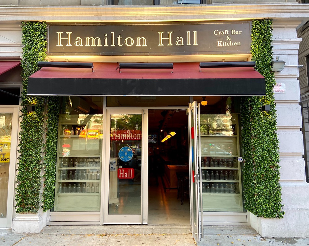 'Craft bar' Hamilton Hall opens on Broadway with plans for an ambitious menu