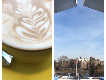 Double Date: ice skating at Lasker Rink + hot chocolate at Little Bean Coffee