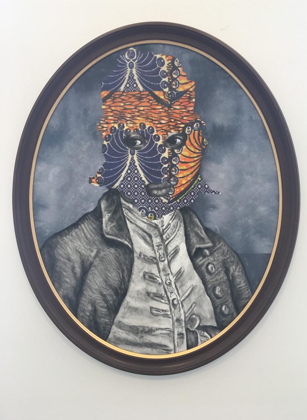 """A work by David Shrobe at """"Harlem Perspectives"""""""