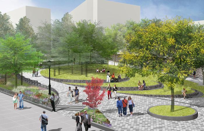 Redesigned Montefiore Park