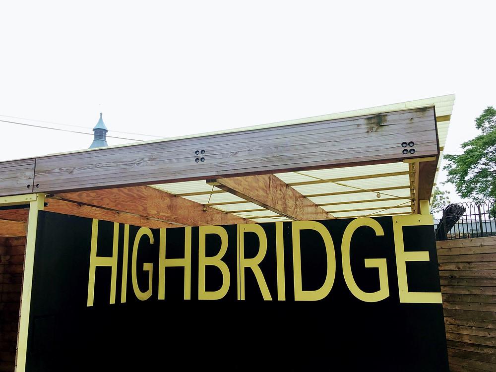The Olympic-sized Highbridge Pool in Washington Heights