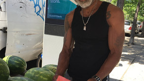 Get your sweet, Georgia-fresh watermelon on a Harlem street corner near you