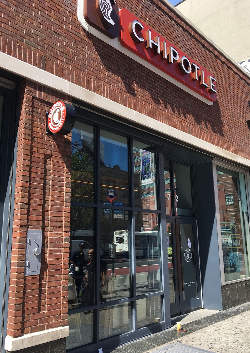 The Chipotle at 72 West 125th Street in Harlem